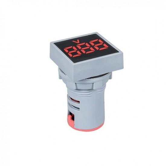 Ampermetru digital patrat 0-100A D22mm