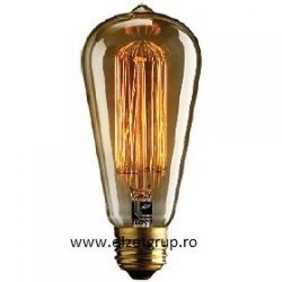 Bec 40W E27 Decorativ Edison Avocado Lumen