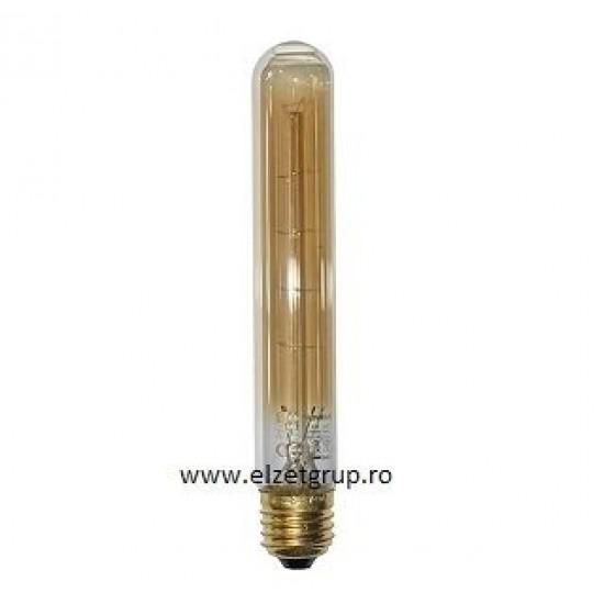 Bec 40W E27 Decorativ Edison Tub Lumen