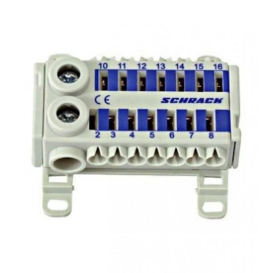 Clema cu conexiune rapida albastru Schrack