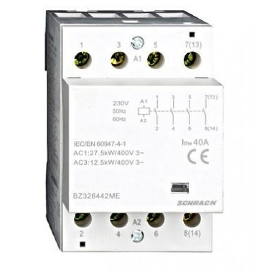 Contactor 40A 3M 4ND 230Vca Schrack