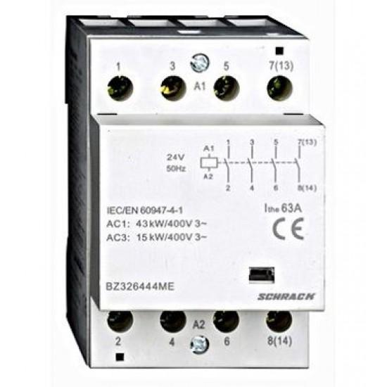Contactor 63A 3M 4ND 230Vca Schrack