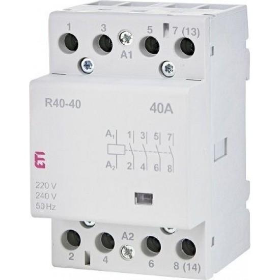 Contactor R40-40 3M 4P TIP AC ETI