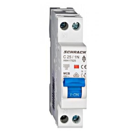 Disjunctor 1P+N 25A Schrack Technik