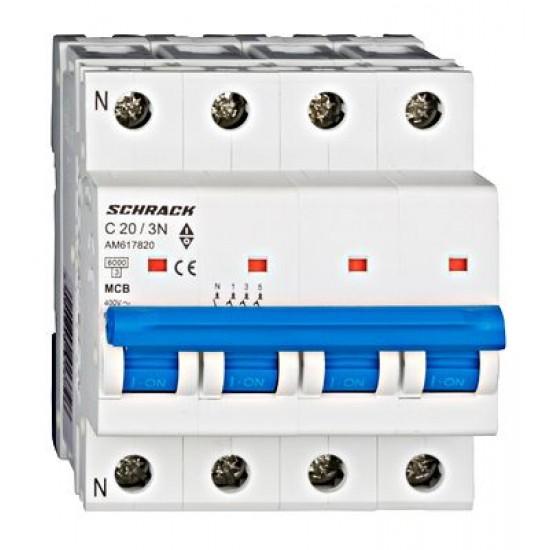 Disjunctor tetrapolar 20A Schrack Technik