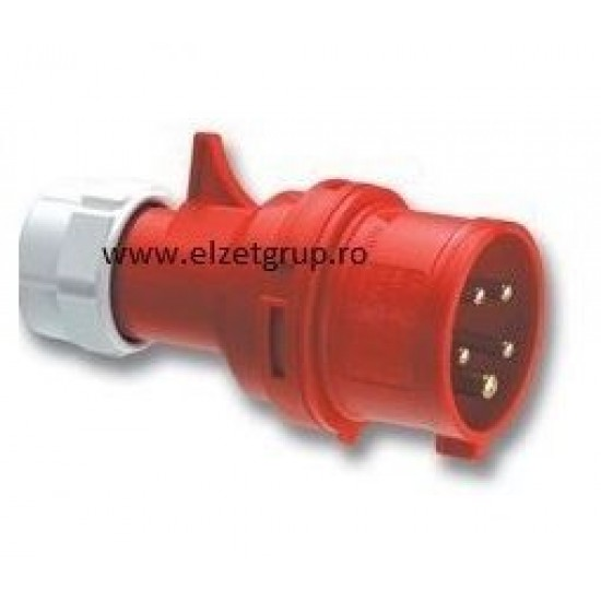 Fisa industriala 16A 380V 5P PCE