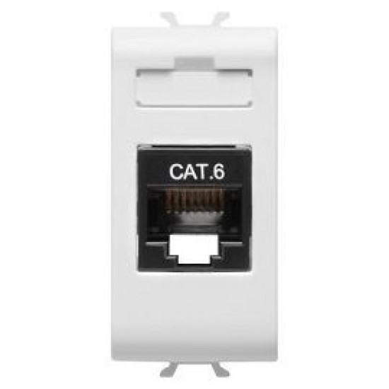 Priza internet UTP CAT6 Gewiss Chorus GW10423