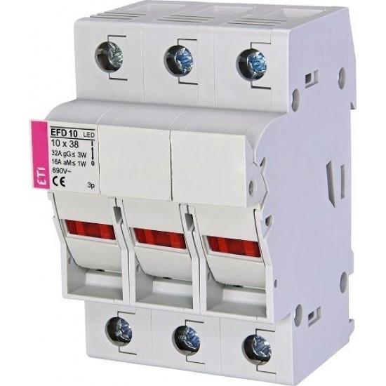 Separator fuzibile 3P EFD 10 ETI 002540014