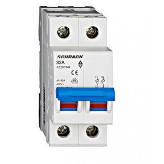 Separator modular 32A 2P Schrack