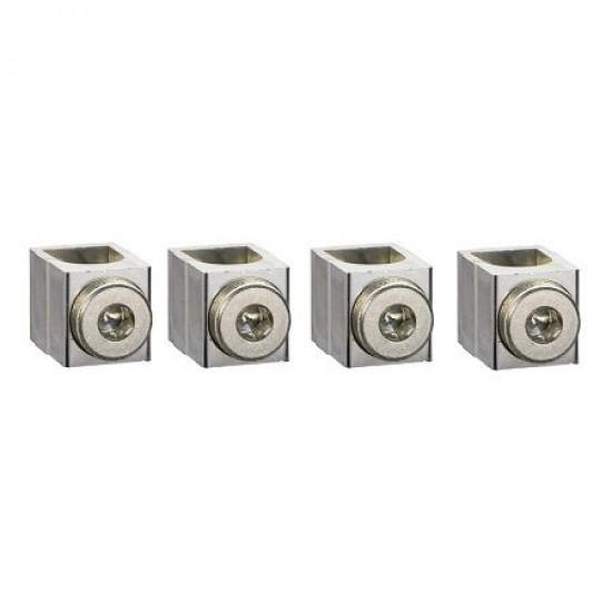 Set 4 conectori 25-95mmp LV429228 Schneider