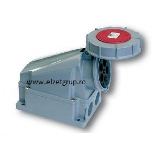 Priza industriala 63A 5P 380V IP67 PCE