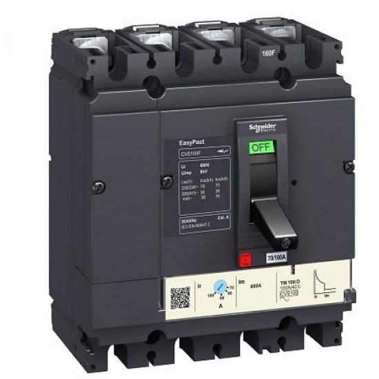 USOL 250A 4P 4D reglabil LV525352 Schneider