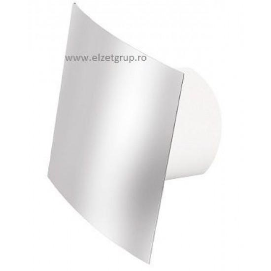 Ventilator 100 cu senzor umiditate & timer crom Visconti Dospel