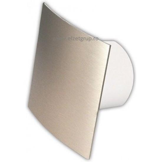 Ventilator 120 cu senzor de umiditate & timer crom satin Visconti Dospel
