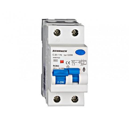Diferential 1P+N 20A 30mA Schrack Technik